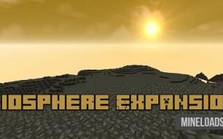 Мод Biosphere Expansion для Майнкрафт 1.12.2, 1.13