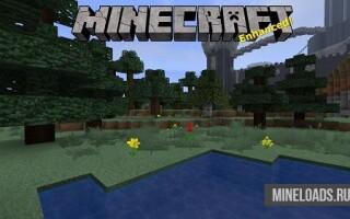 Текстур-пак Minecraft enhanced для Майнкрафт 1.12.2, 1.13