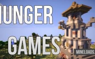 Карта HUNGER GAMES для Майнкрафт 1.12.2, 1.13