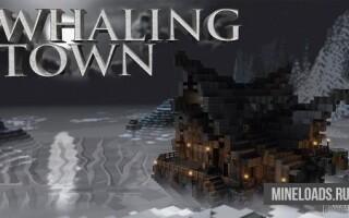 Карта Whaling Town для Майнкрафт 1.12.2, 1.13