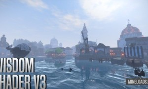 Шейдер Wisdom для Minecraft 1.12.2, 1.13