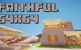 Текстур-пак Faithful для Майнкрафт 1.13