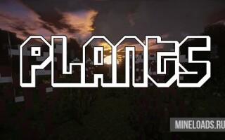Мод на Новые растения для Майнкрафт 1.12.2