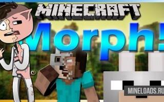 Мод Morph для Майнкрафт 1.13