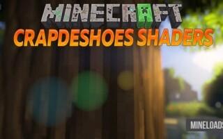 Шейдер CrapDeShoes для Minecraft 1.12.2, 1.13