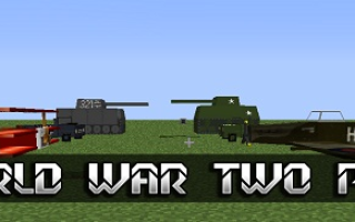 Мод World War Two Pack для Майнкрафт 1.12.2, 1.13