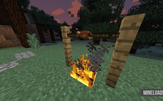 Мод The Camping mod для Майнкрафт 1.12.2