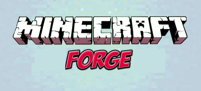 Minecraft forge для Майнкрафт 1.9