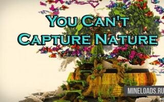 Карта You Can't Capture Nature для Майнкрафт 1.12.2, 1.13