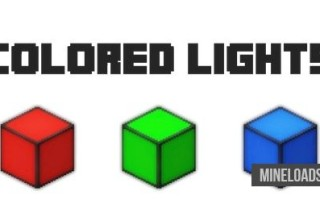 Мод Colored Lights для Майнкрафт 1.12.2, 1.13