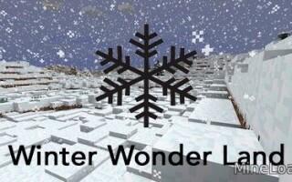 Мод Winter Wonder Land для Minecraft 1.12.2, 1.13