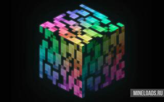 Мод Раскраска блоков для Майнкрафт 1.12.2, 1.13