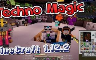 Готовый сервер Minecraft 1.12.2 с 123 модами