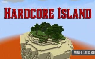 Мод Хардкорные Острова для Майнкрафт 1.12.2, 1.13