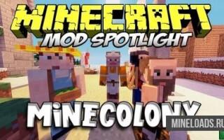 Мод MineColonies для Майнкрафт 1.12.2, 1.13