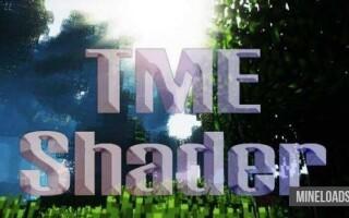 Шейдер TME для Minecraft 1.12.2, 1.13
