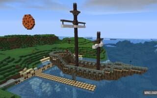 """Карта на выживание """"Выживание на острове"""" для Майнкрафт 1.13.2"""