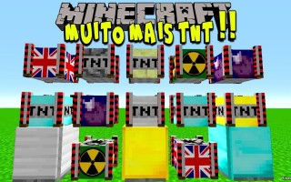 Мод на Новые бомбы для Майнкрафт 1.12.2