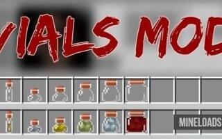 Мод Vials для Майнкрафт 1.12.2, 1.13