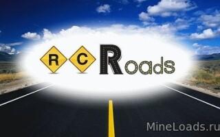 Мод RC Roads – Дороги для Майнкрафт 1.12.2, 1.13