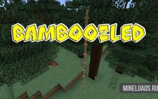 Мод Bamboozled для Майнкрафт 1.12.2, 1.13