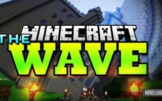 Шейдер The Wave для Minecraft 1.12.2, 1.13