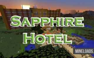 Карта Sapphire Hotel для Майнкрафт 1.12.2, 1.13