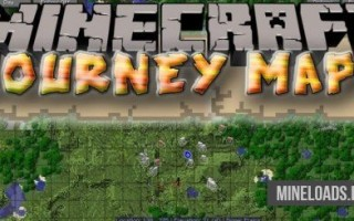 Мод JourneyMap для Майнкрафт 1.12.2, 1.13