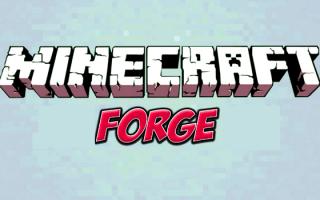 Minecraft forge для Майнкрафт 1.6.4