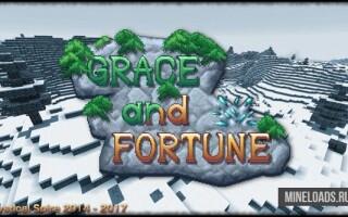 Текстур-пак Grace & Fortune для Майнкрафт 1.13