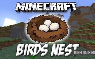 Мод Birds Nests для Майнкрафт 1.12.2, 1.13