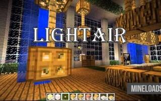 Мод на Воздушный свет для Майнкрафт 1.12.2, 1.13