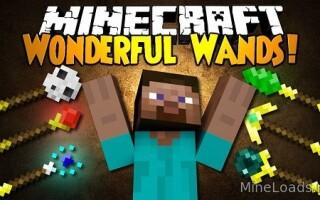 Мод Wonderful Wands для Майнкрафт 1.12.2, 1.13