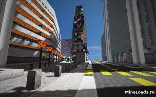 Карта New Insta City 2.0 для Майнкрафт 1.12.2, 1.13