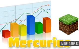 Мод Mercurius для Майнкрафт 1.12.2, 1.13