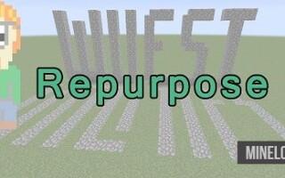 Мод Repurpose для Майнкрафт 1.12.2, 1.13