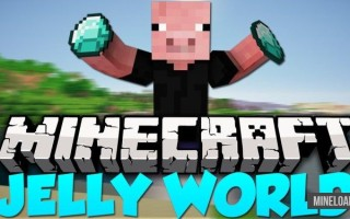 Шейдер Jelly World для Minecraft 1.12.2, 1.13