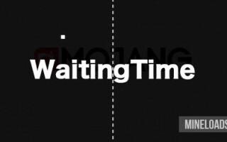 Мод WaitingTime для Майнкрафт 1.12.2, 1.13