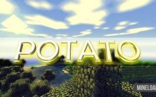 Шейдер Potato для Minecraft 1.12.2, 1.13