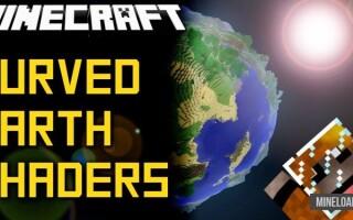 Шейдер World Curvature для Minecraft 1.12.2, 1.13