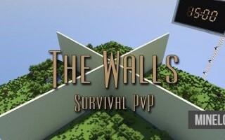 Карта The Walls – PvP Survival для Майнкрафт 1.12.2, 1.13