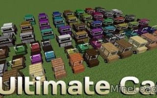 Мод Ultimate Car для Майнкрафт 1.12.2, 1.13