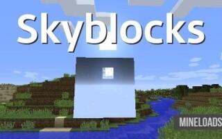 Мод Skyblocks для Майнкрафт 1.12.2