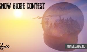 Карта Snow Globe Contest для Майнкрафт 1.12.2, 1.13
