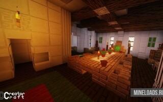 Ресурс-пак 3D CreatorCraft для Майнкрафт 1.13