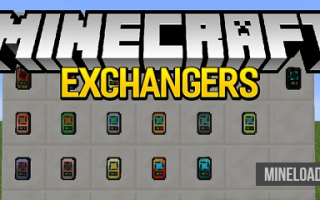 Мод Exchangers для Майнкрафт 1.12.2, 1.13
