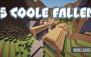 Карта 5 Coole Fallen для Майнкрафт 1.12.2, 1.13