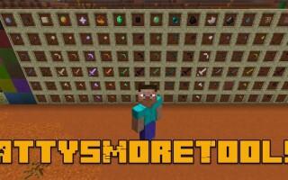Мод PattysMoreTools 2 для Майнкрафт 1.14.3