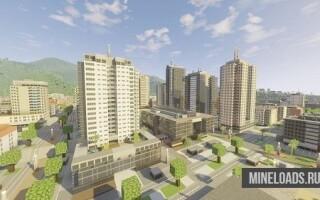 Ресурс-пак ASL's Mini City для Майнкрафт 1.13
