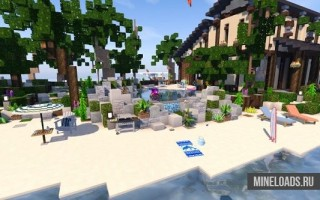 Ресурс-пак Amberstone 3D для Майнкрафт 1.13